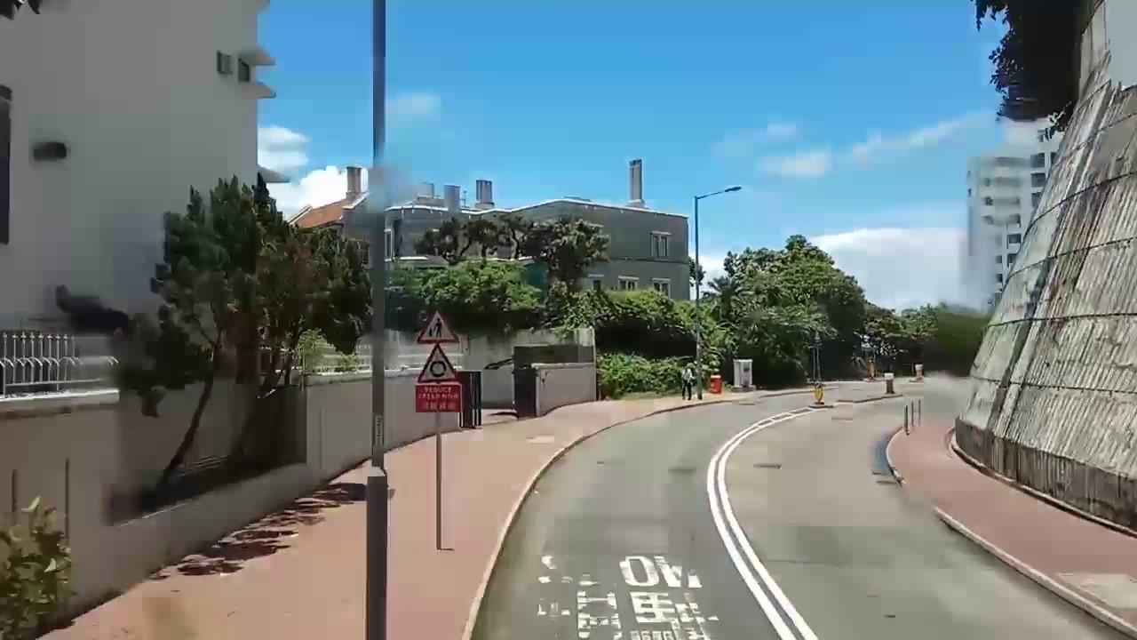 CTB 43M 9116(SE6352) 由香港大學李嘉誠醫學院至沙宣道(行車片段)(分段片段) - YouTube