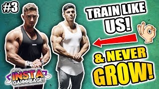 INSTA-GAHHHBAGE: How To Get BIG ARMS... In 100 Years | But We Look Cute In GymShark Right? (Ep.3)