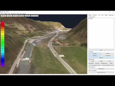 3Dsurvey - Point cloud data procesing and land surveying software