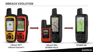 inReach Webinar: Introduction to the GPSMAP® 66i