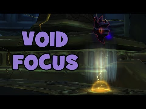 WoW BfA – 8.3 Void Focus: New Profession Recipes & Upgrading the Void Focus