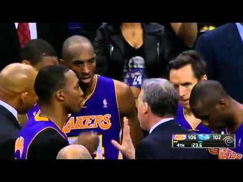 Kobe Bryant fools Hornets on inbounds play