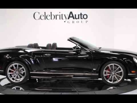 2011 Bentley Continental Gt Gtc Speed 80 11 Edition For Sale In