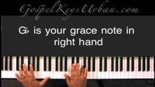Clip from GospelKeys Urban... How To Use Grace Notes