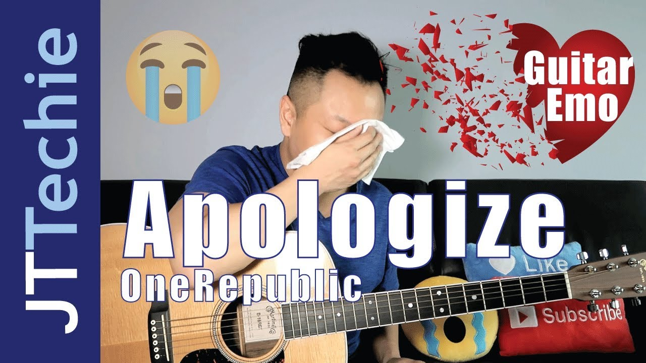 how to play apologize by onerepublic on acoustic guitar for beginners guitar emo youtube. Black Bedroom Furniture Sets. Home Design Ideas