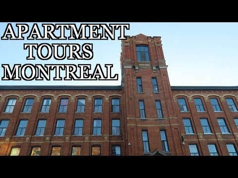 Montreal Apartment Hunting Tour Vlog