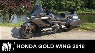 2018 Honda Gold Wing GL1800 Essai POV AUTO-MOTO.com