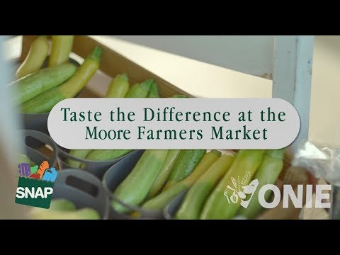 The Moore Farmers Market - Taste the Difference