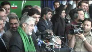 میر حسین موسوی در آذربایجان