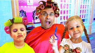 Diana Pretend Play Jobs teaching fun Professions for kids!