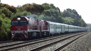 THE GHAN through Parafield Station ADELAIDE