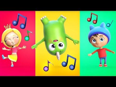 Музыкальные мультики для детей Сина и Ло. Детская Песня про молнию.