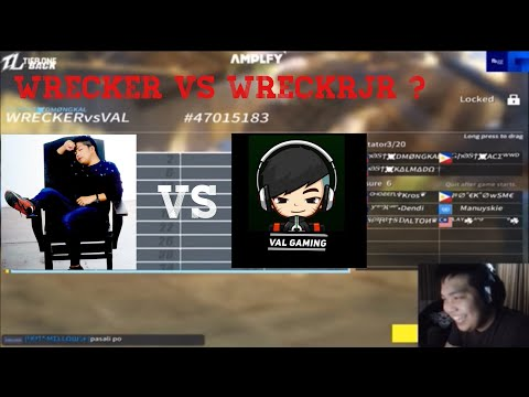 GHOST Wrecker VS GHOST WreckerJR ( GHOST VaL )  1 - 5  | #GHOSTWRECKERCOMEBACK!