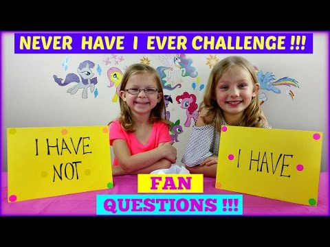 NEVER HAVE I EVER CHALLENGE  Fan Questions - Magic Box Toys Collector