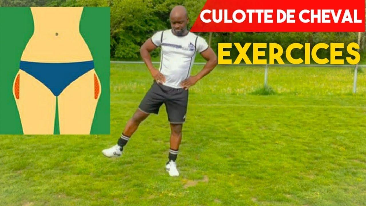 Culotte de cheval, exercices - YouTube