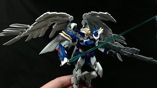 Build and Review RG 1/144 Wing Gundam Zero EW By Hobbywave.com