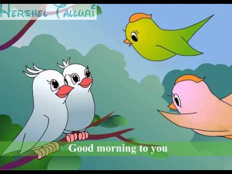 Nursery Rhymes Good Morning Youtube