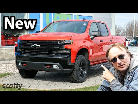 This New Chevy Silverado Doesn't Even Have an Engine (New Design)