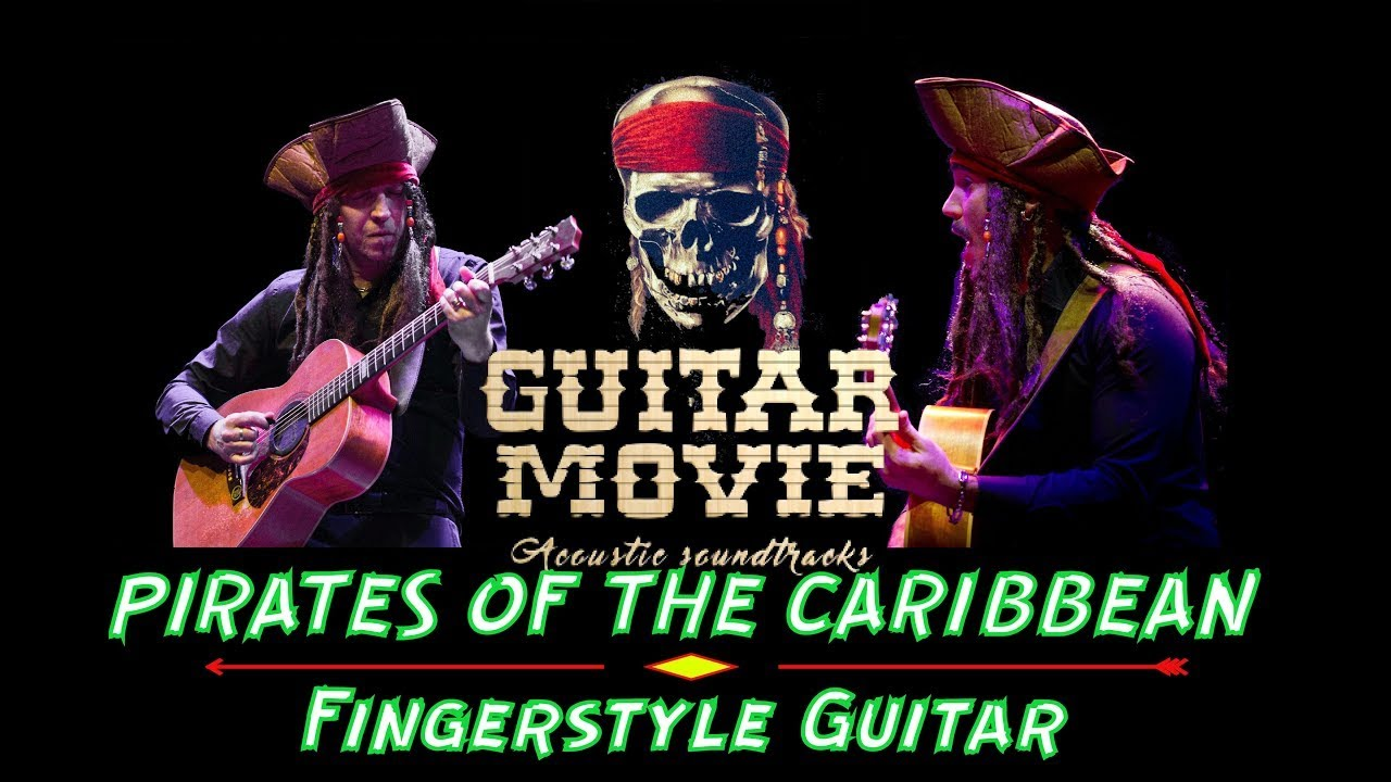 """Download """"PIRATES OF THE CARIBBEAN""""    Fingerstyle Guitar Cover By GUITAR MOVIE"""