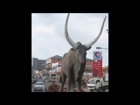 Mbarara, beautiful city in Uganda, important transport hub, industry, and infrastructure