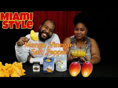 Mango, Salt, Pepper, Vinegar Collab with N&Jay (Miami style)