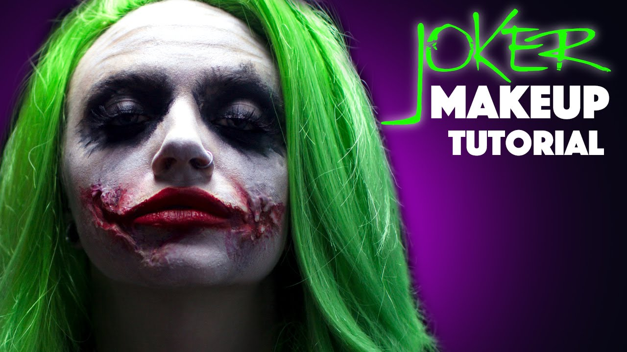 Joker Makeup Tutorial - YouTube