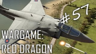 Marine Massacre! Wargame: Red Dragon Gameplay #57 (Floods, 4v4)