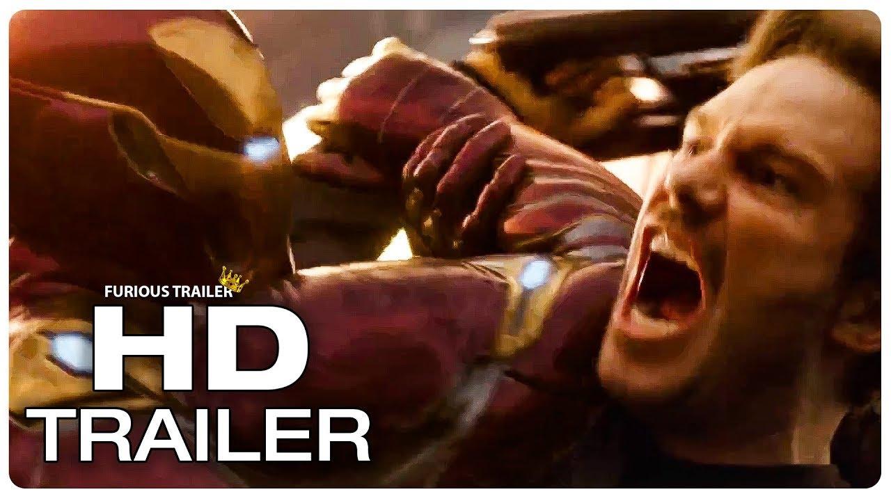 avengers infinity war iron man vs star lord trailer (2018) superhero