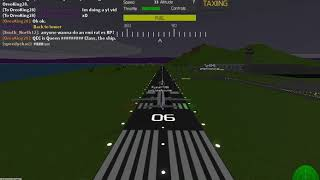 Ryanair make emergency landing at with an engine failure in roblox!
