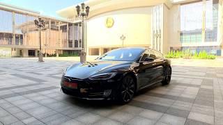 """Лукашенко протестировал Tesla и посоветовал  разработчикам """"не всовывать батарею в багажник"""""""