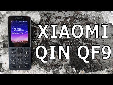 39 $ за Второе Поколение Кнопочного Телефона Xiaomi Qin QF9!
