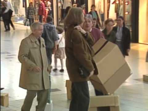 Dropped Boxes Prank