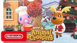 Animal Crossing: New Horizons - Free Winter Update - Nintendo Switch