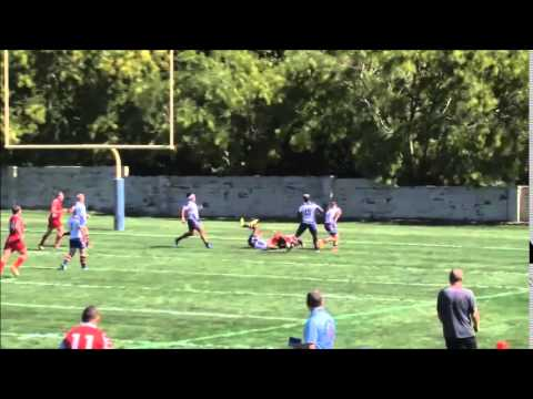 USA vs Canada – 2015 Rugby League Colonial Cup Game 1 (Enoch Wamalwa Try)
