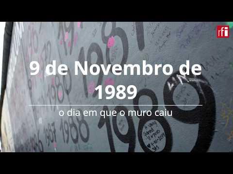 Berlim: 9 de Novembro de 1989 - o dia em que o muro caiu