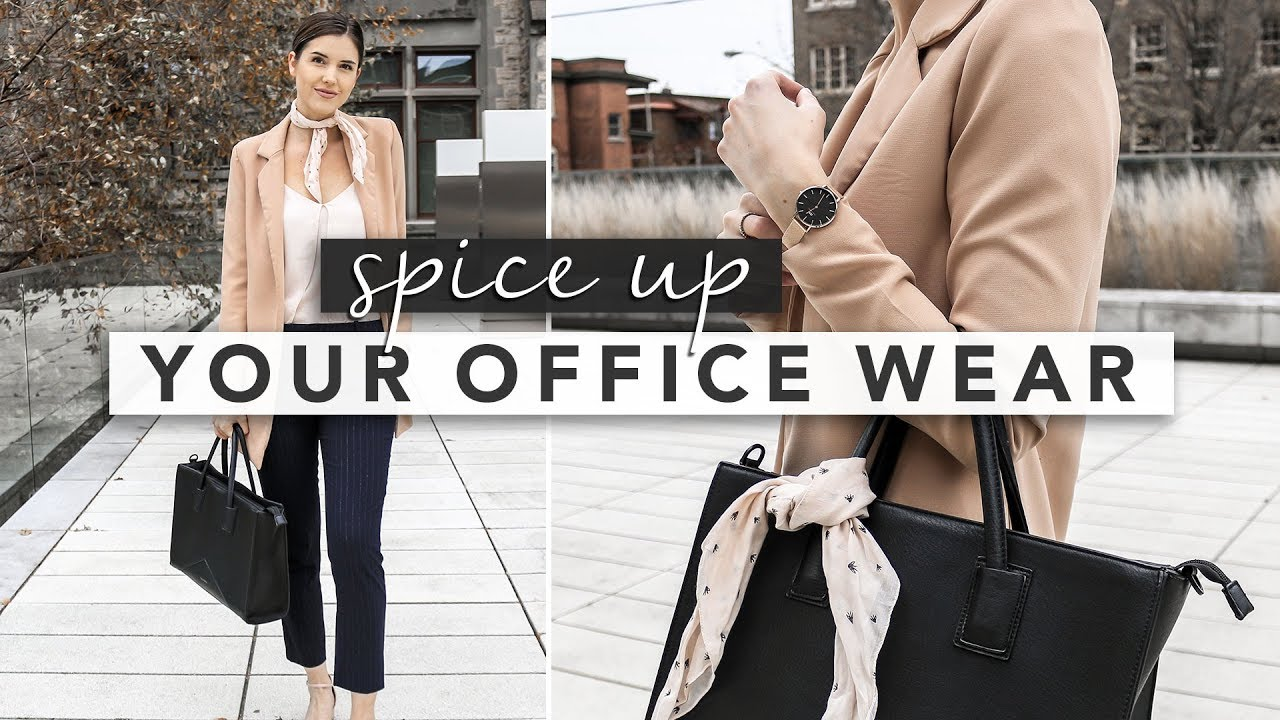 Easy Ways To Spice Up Your Office Wear