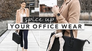 Easy Ways to Spice Up Your Office Wear | Erin Elizabeth