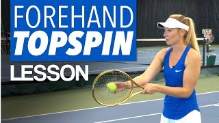 3 TENNIS TIPS FOR MAXIMUM FOREHAND TOPSPIN