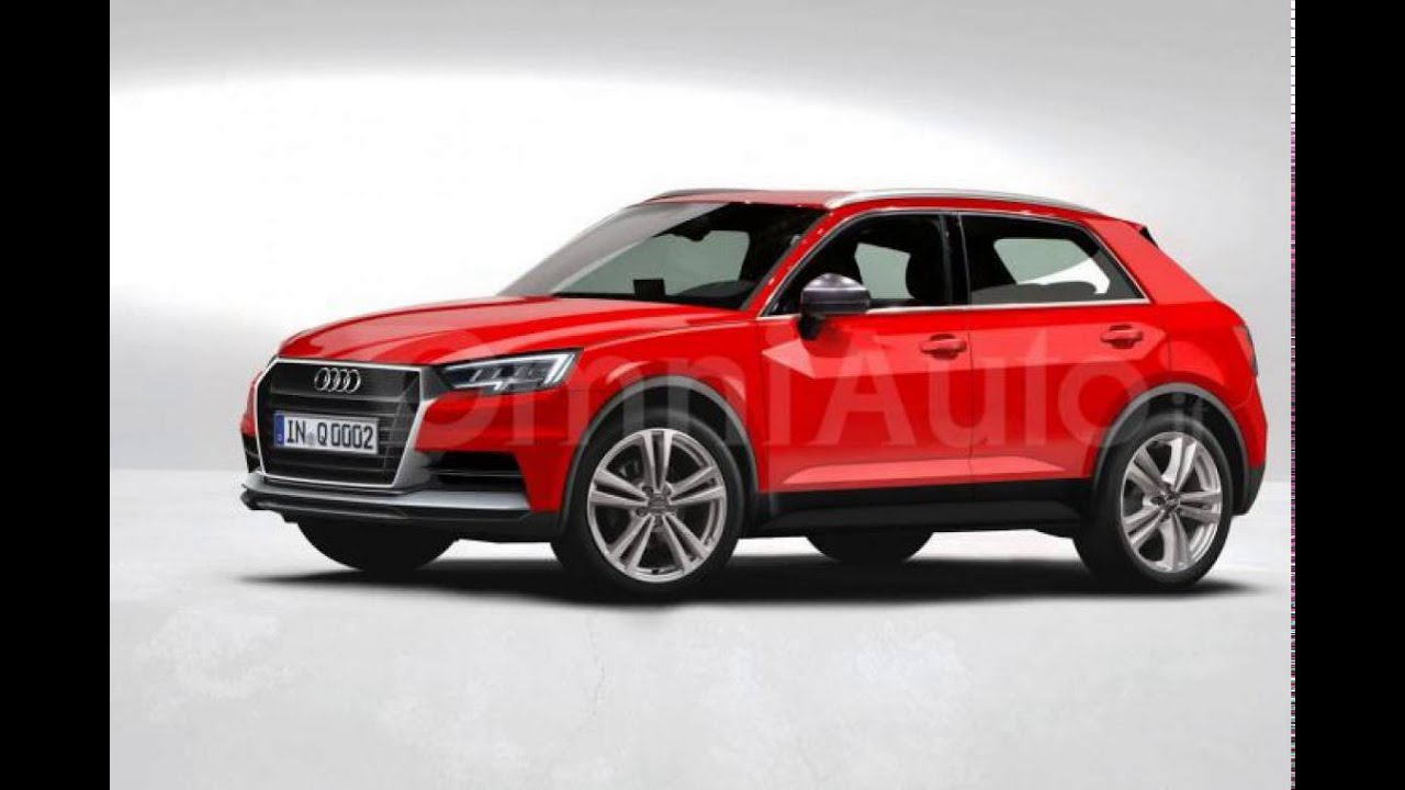 2017 Audi Q1 Rendered Based On Latest Spy Photos Youtube