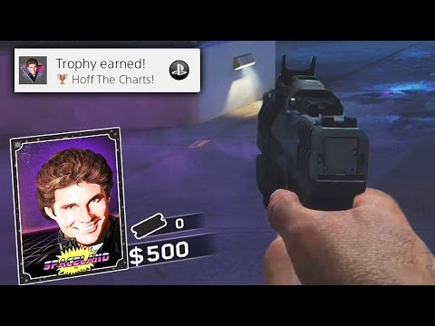 ZOMBIES IN SPACELAND EASTER EGG: PLAY AS HASSELHOFF EASTER EGG GUIDE! (Infinite Warfare Zombies)