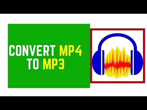 How to Easily Convert Mp4 to Mp3 Using Audacity