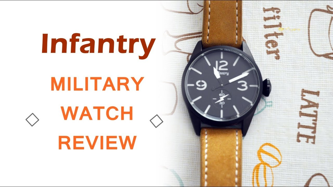 Infantry Military Watch Review