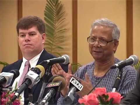 Dr. Muhammad Yunus joins Aftab Ul Islam, FCA at a Lunch Meeting