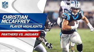 Christian McCaffrey's Best Plays vs. Jacksonville | Panthers vs. Jaguars | Preseason Wk 3 Highlights