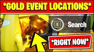 FORTNITE IS TURNING INTO GOLD - SEASON 2 CHAPTER 2 EVENT *RIGHT NOW*
