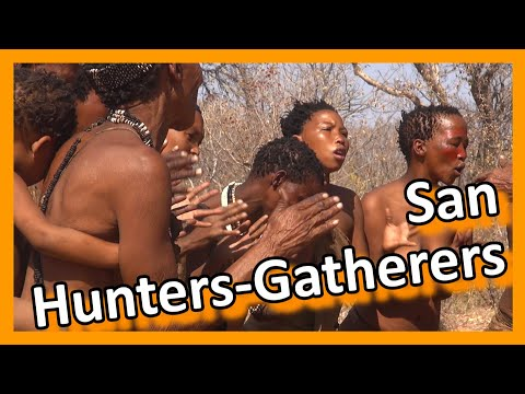 Namibia - San People Hunters And Gatherers