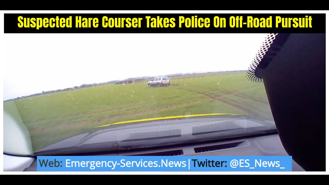 Suspected Hare Courser Takes Police On Off-Road Pursuit