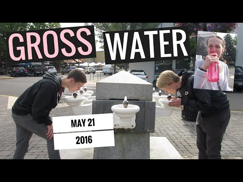 DRINKING GROSS LITHIA WATER | 5.21.16