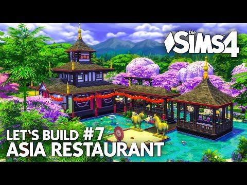 Asia Restaurant bauen #7 | Die Sims 4 Let's Build Gaumenfreuden Gameplay-Pack