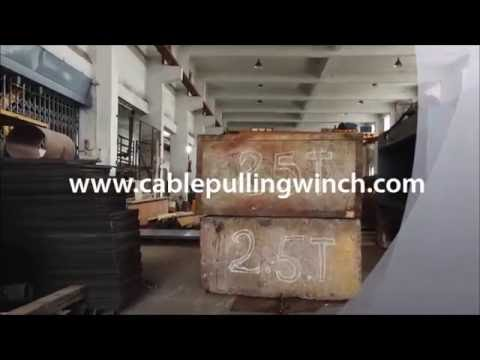 Electric Cable Pulling Winch machine suplier Hyderabad